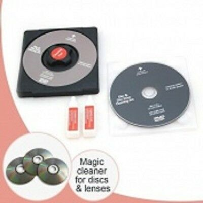 Laser Lens Cleaner Cleaning Kit for Playstation XBOX BLURAY DVD PLAYER CD Disc
