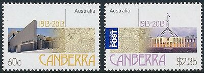 2013 Australia Centenary of Canberra Set of 2 MNH