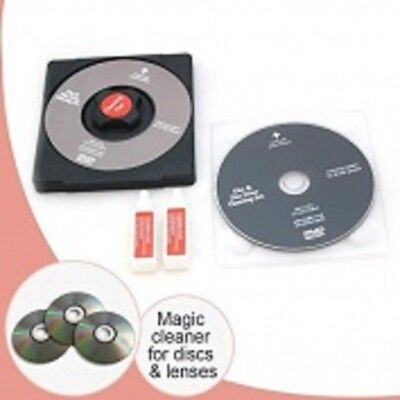 1x Laser Lens Cleaner Cleaning Kit Playstation XBOX BLURAY DVD PLAYER CD Disc