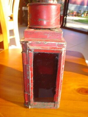 Vintage Medium Size Aussie Railway Lamp+Burner