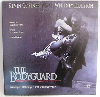 LASERDISC The Bodyguard - Cover Good, Discs Good to VG