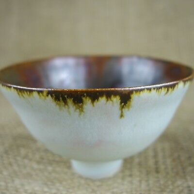 Porcelain Footed Bowl, Lucie Rie Influence? Unknown Potter
