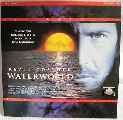 LASERDISC Waterworld - Cover Good, Discs Good to VG