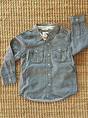 Country Road Long Sleeves Shirt for Boy size 4
