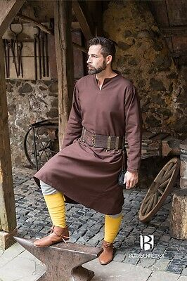 Medieval Tunic long - Brown