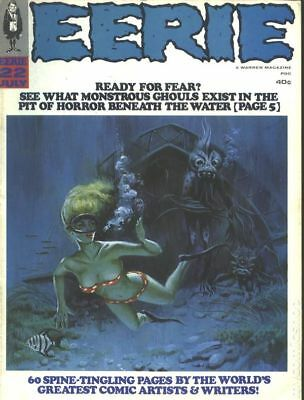 Eerie (1966 Warren Magazine) #22 VG+ 4.5 LOW GRADE