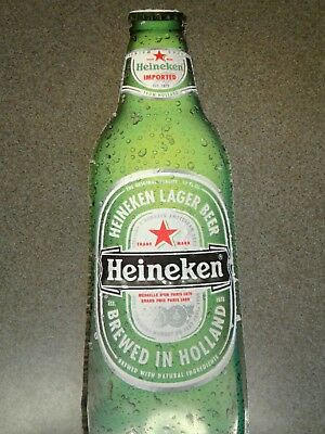 Heineken Lager Beer metal Beer Sign