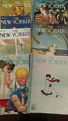 THE NEW YORKER magazines 100 ORIGINAL COVERS ONLY N/ MINT. SUITABLE FOR FRAMING