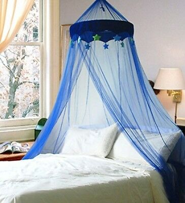 Blue In The Night Star Bed Canopy (Mosquito Net)