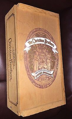 "Vintage Christian Brothers ""BROTHER TIMOTHY'S SPECIAL SELECTION"" Wood Box"