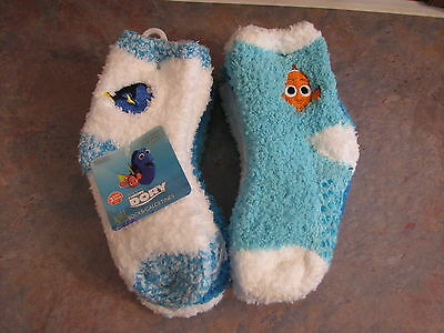 2 sets of Nemo Kids Socks for a total of 6 pairs of socks Size 2-4T NWT