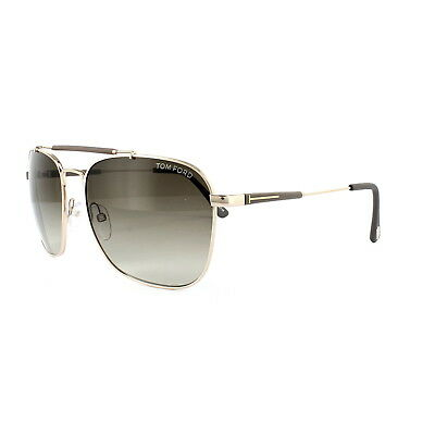 67d44a197e8 Tom Ford Sunglasses FT0377 Edward 28K Shiny Rose Gold Brown Gradient Roviex  60mm