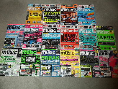16 Issues Of COMPUTER MUSIC Magazine From 2008-2016