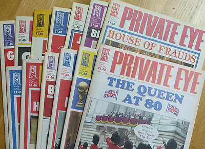 Private Eye - 13 back-issues - no. 1149-1161 - January-July 2006