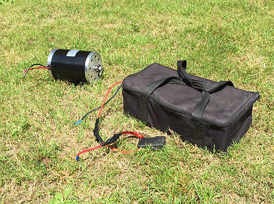 Electric motor with 36V Battery Pack