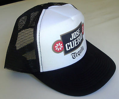 hat, cap Jose Cuervo Tequila black/white one size fits all trucker style