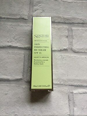 Skin Perfecting BB Cream SPF15 by Sanctuary Spa Light to Medium 50ml