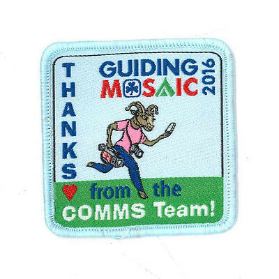 Girl Guide Scout Brownie BADGE PATCH CREST ~ Canada Guiding Mosaic 2016 - 2""