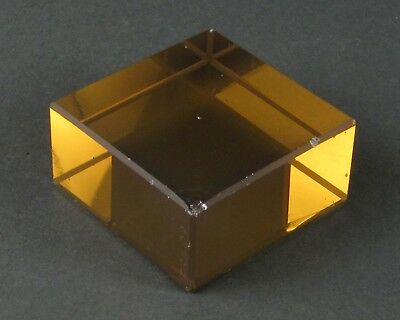 "Zerodur Block / Optical Blanks - Polished - 2.5"" x 2.5"" x 1.25"""