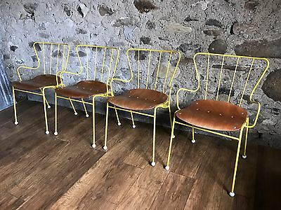 4 Stunning Vintage Ernest Race Antelope Chairs Festival Of Britain 1951