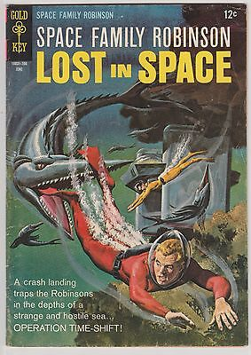 Space Family Robinson Lost in Space #22 Gold Key Comics 1967