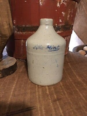 Antique Stoneware Crock Jug