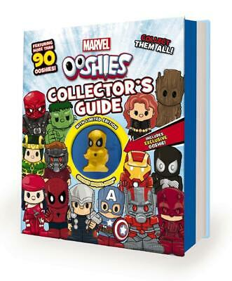 Marvel Ooshies: Collector's Guide Hardcover Book Free Shipping!