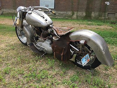 1983 Harley-Davidson Other  Harley Davidson Custom Cadillac bike. Rat Rod, Bare metal bike. Chopper. Bobber