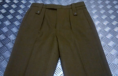 Genuine Vintage Old Pattern British Army No2 / SD Dress Trousers Zip Fly Various