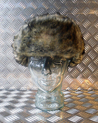 Russian / Soviet / USSR Brown Cossack Hat with Ear Flaps. All Sizes -  NEW