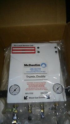 McDantim Trumix Double Co2/N2 Gas Blender Draft Beer Systems