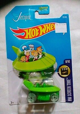 THE JETSONS CAR Hot Wheels Diecast Jetsons SPACE SHIP Diecast Cars UFO Brand NEW