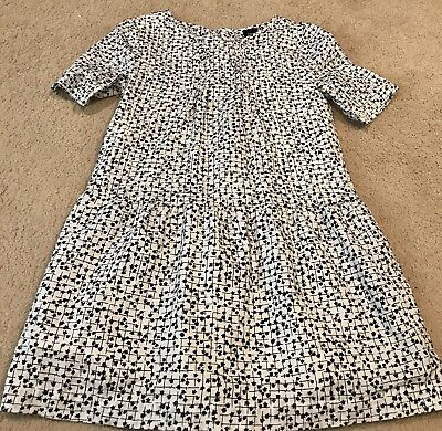 GAP Kids 100% Cotton Dress Black & White Size S Small 6/7 Lined
