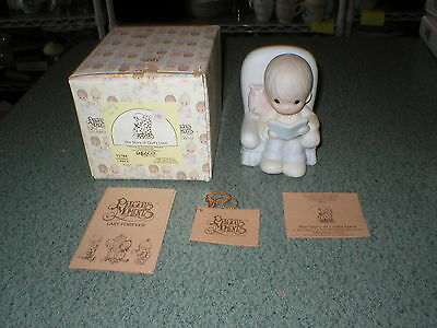 Precious Moments 1985 Figurine The Story of God's Love #15784