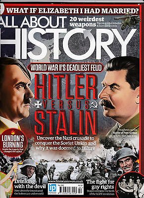 ALL ABOUT HISTORY Magazine Number 42 - HITLER VERSUS STALIN Cover