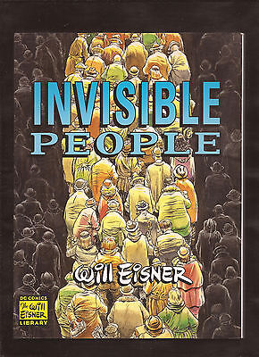Will Eisner Invisible People Graphic Novel DC Comics Library September 2000