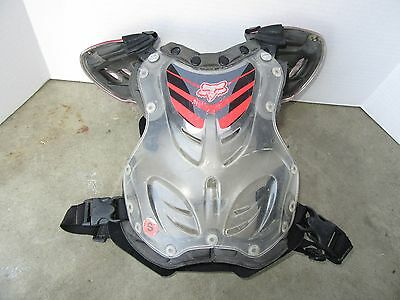 Fox Racing R3 Chest Protector Roost Guard Motocross Dirt Bike Youth Kids Small