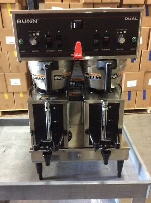 BUNN DUAL Refurbished Auto Coffee Maker 2 RefurbishSatellite Containers Included