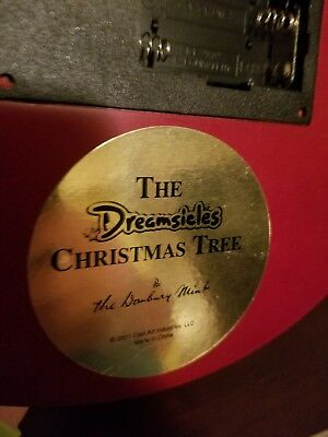 Dreamsicles Musical Christmas Tree