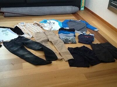 Boys Clothing Size 10  Jeans, Shirt, Minecraft PJs and lots of Tops !!