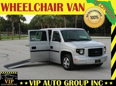 2012 VPG AM General G80  2012 VPG Handicap Wheelchair Van MV-1 Power Side Entry Ramp Mobility