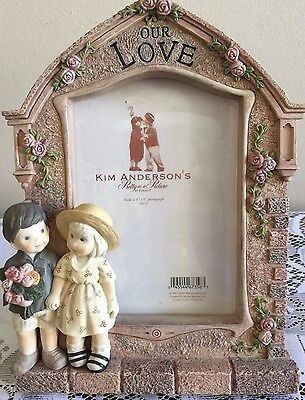 "¤Enesco Kim Anderson's 2001 ""our Love"" Pretty As A Picture #669792"