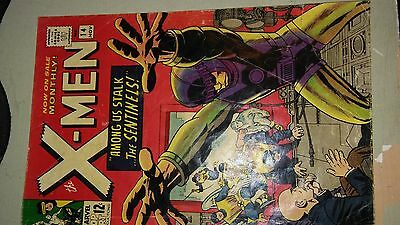 X-Men Sentinels #14 Silver Age 1965 Gd/fn