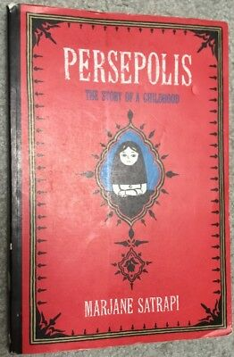 Pantheon Graphic Novels: Persepolis: The Story of a Childhood by Marjane Satrapi