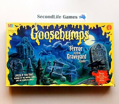 (Vintage) GOOSEBUMPS: Terror In The Graveyard Board Game (1995) Secondlife Games