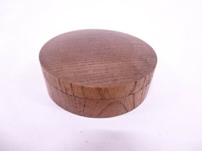 30856# Japanese Tea Ceremony / Kogo (Incense Container) / Wood / Crane