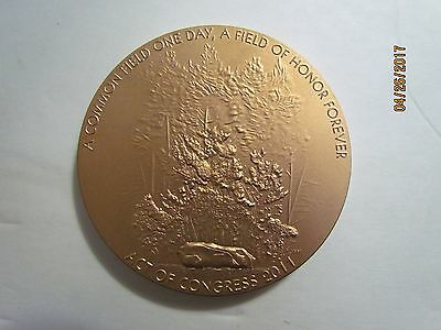 US Mint Fallen Heroes 9/11 Bronze Medal Flight 93 3""