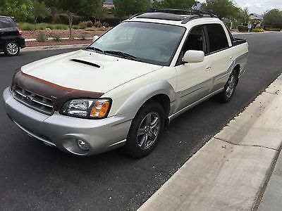 2004 Subaru Baja Baja Turbo Free Shipping With Buy It Now - New Engine - Pearl White 2004 Subaru Baja Turbo