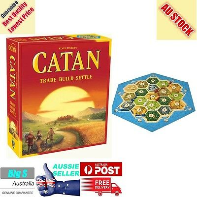Settlers of Catan 5th Edition- NEW Board Game - AUS Stock