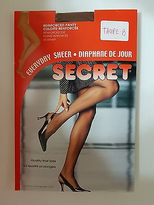Secret  Pantyhose (Taupe  B) 20 Denier